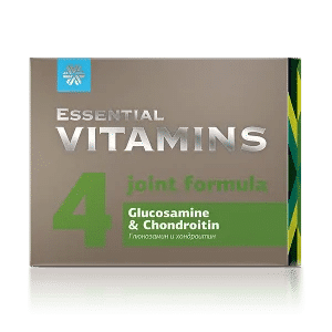 Глюкозамин и хондроитин - Essential Vitamins